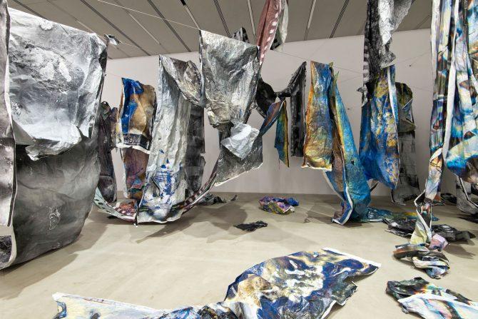 "Daisuke Yokota Solo Exhibition""Matter /      "" September 2016, G/P gallery, Tokyo"