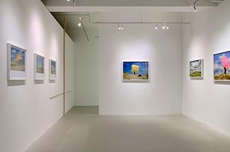 長谷良樹個展『DESSIN』展示風景(2019年)