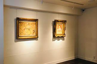 和田画廊 展示風景