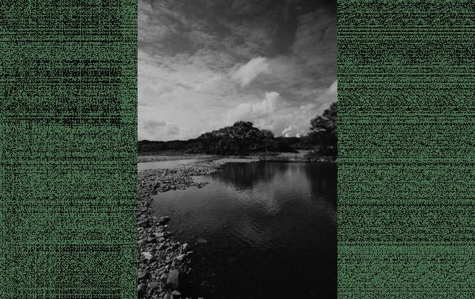 川のある処