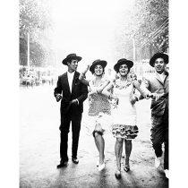 奈良原一高《フィエスタ セビーリャまたはマラガ》〈スペイン 偉大なる午後〉より 1963-65年 © Ikko Narahara
