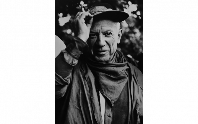 Picasso,Nimes 1958 © Lucien Clergue/G.I.P.Tokyo