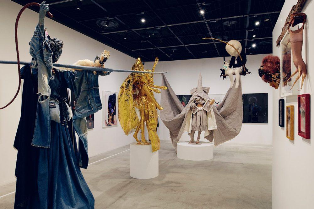 ピュ~ぴるは女神になったのか?12年ぶりの個展をディーゼル渋谷で開催