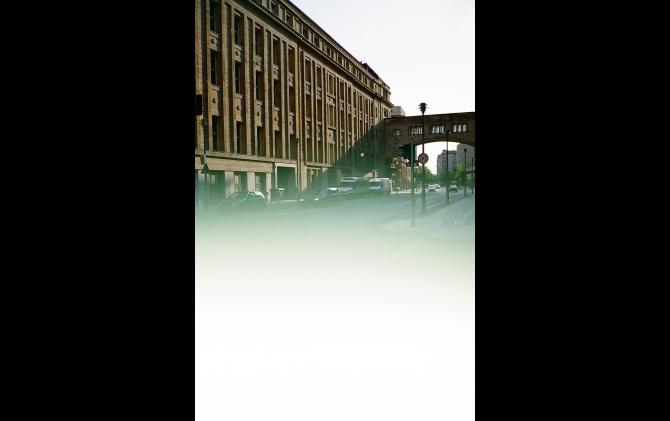 Behren Straße from the series JAPAN IN DER DDR - Gestohlene Erinnerungen wurden erneut zerstört 2016 | type c print | 178 × 126 mm | © Tamami Iinuma, courtesy KANA KAWANISHI GALLERY