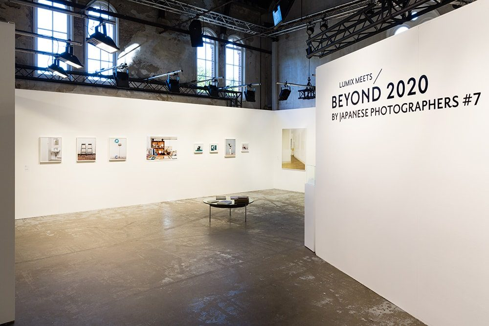 「LUMIX MEETS BEYOND 2020 by Japanese Photographers #7」アムステルダムでの展示風景。(写真:大谷臣史)