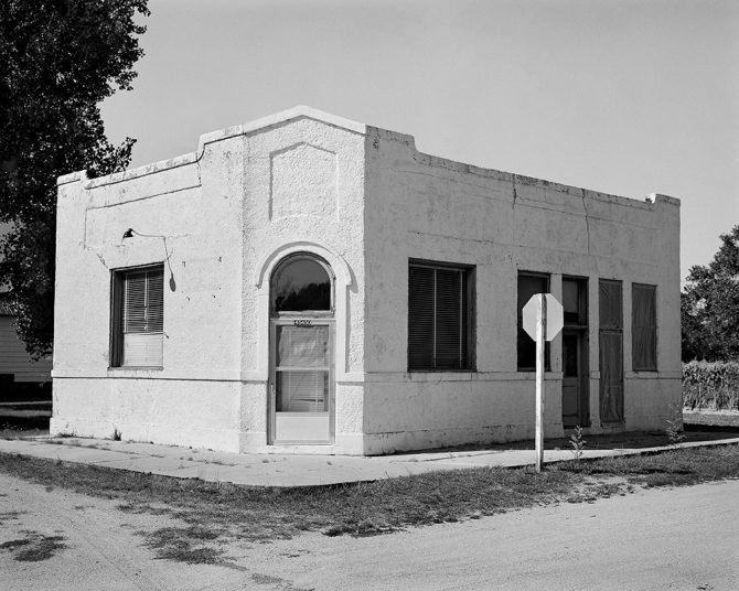 Bank, Bird City, Kansas, 2006 © William Wylie