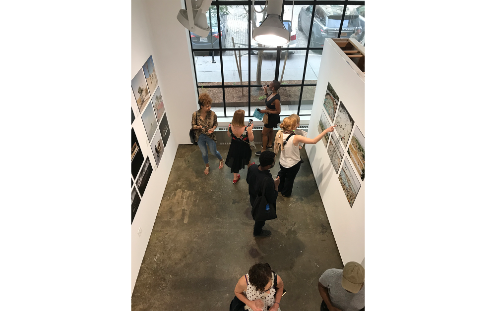 The UPI Gallery, New York(2019)会場での展示風景