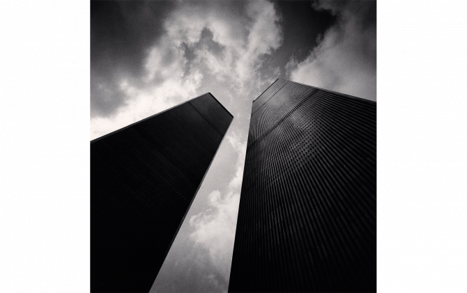 Twin Towers, Study 2, New York City, USA, 2000 © Michael Kenna/RAM