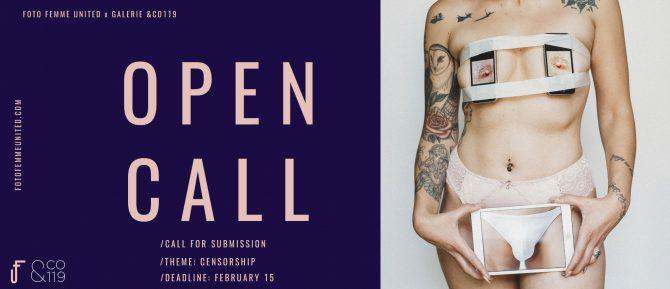 Foto Femme UnitedとGalerie & CO119が女性写真家の作品を募集、テーマは「C*NSORSH*P(検閲)」