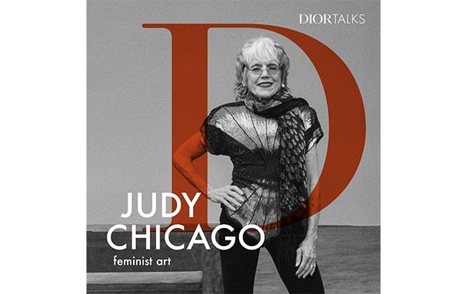 2回目はアーティストのジュディ・シカゴ