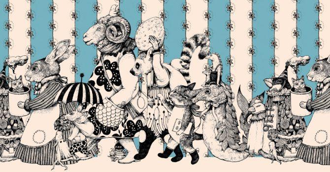 画家ヒグチユウコとコラボレーションゲームを配信。Illustration by Yuko Higuchi, courtesy of Gucci