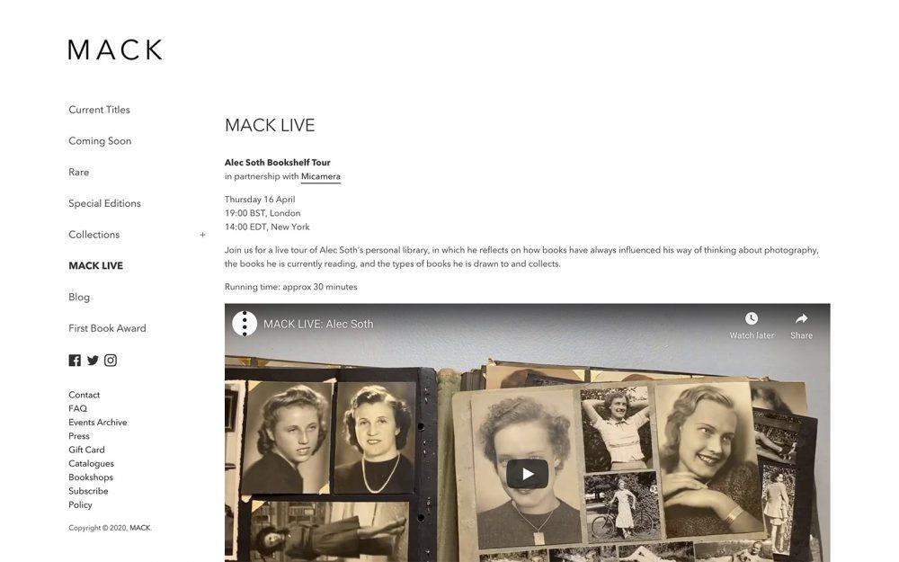 MACK LIVE