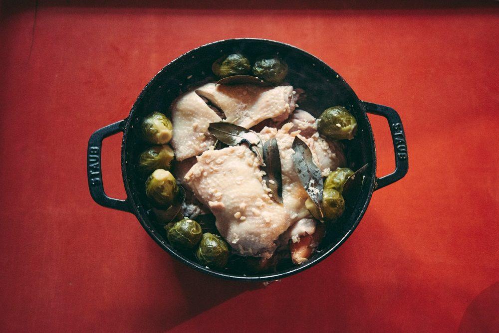 鶏と旬野菜のポトフ