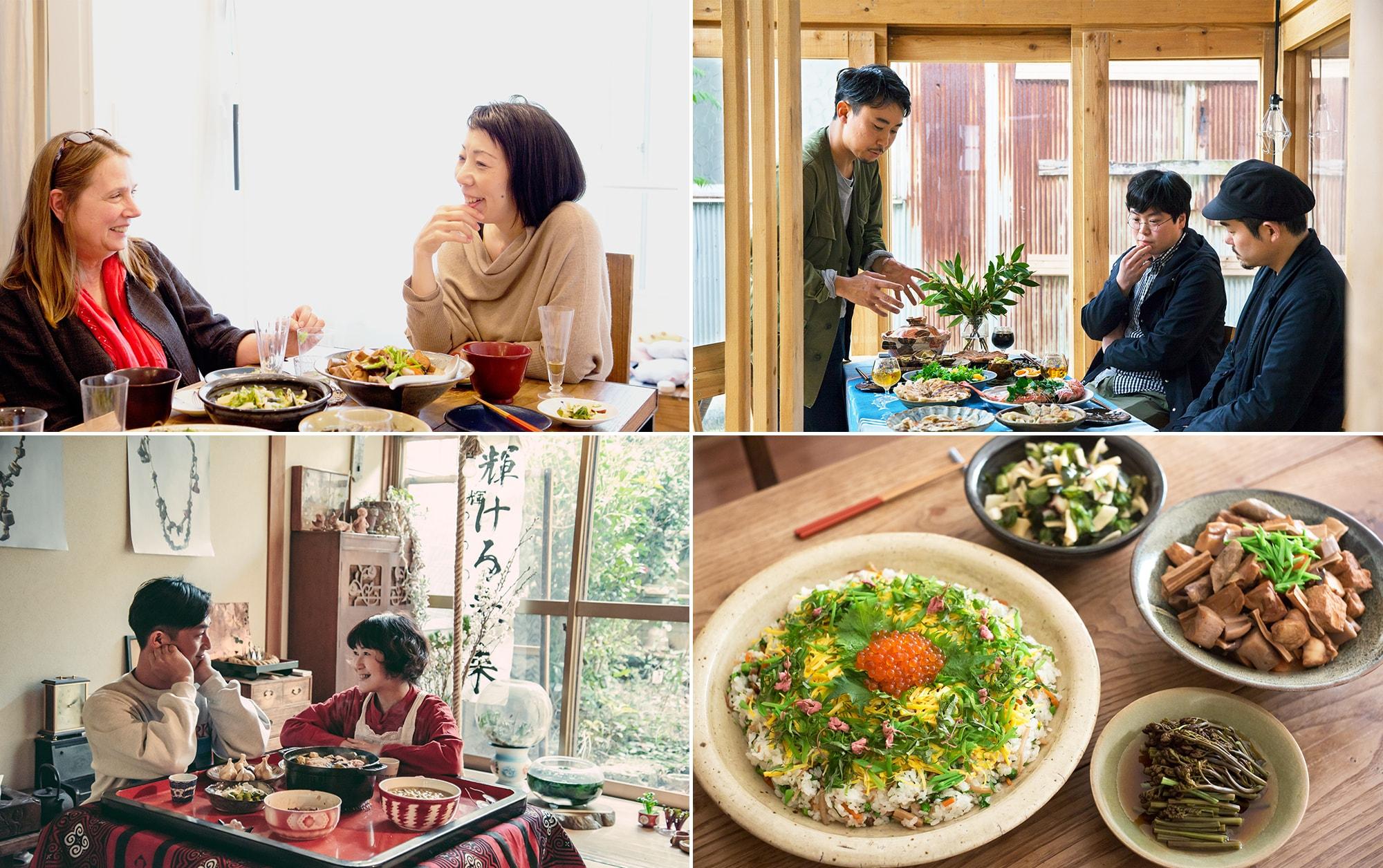 特集:写真家の食卓シリーズ | 花代×川島小鳥