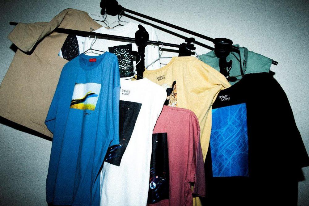 PHOTOGRAPHER×flotsam books フォトオーバーサイズビッグTシャツ