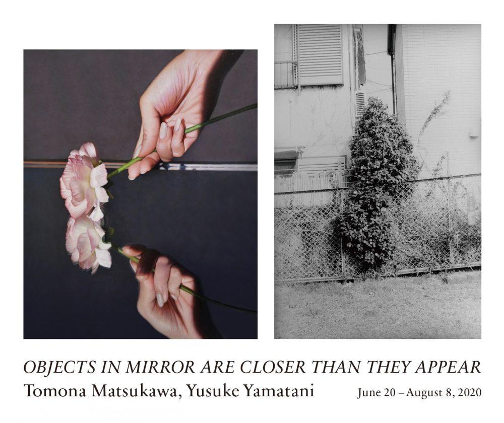 (左)松川朋奈、新しい100年、2020;(右)山谷佑介、2019年2月26日 東京都杉並区、2020
