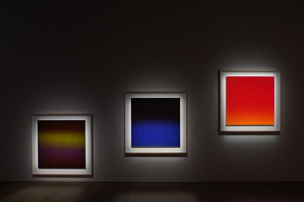 京都市京セラ美術館「杉本博司 瑠璃の浄土」《OPTICKS》展示風景