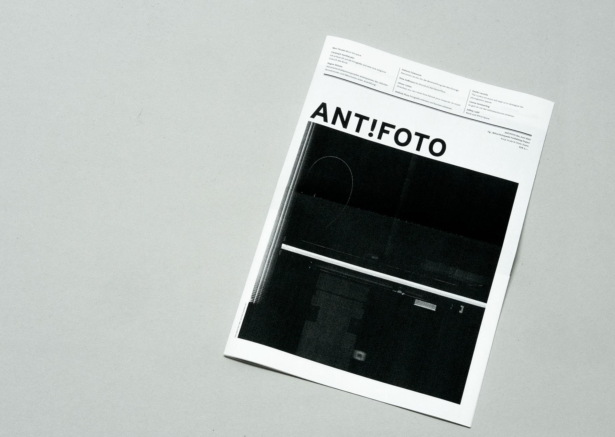 ロックダウン後、7年ぶりに『ANT!FOTO Magazine』最新号がローンチ! | ANT!FOTO Magazine