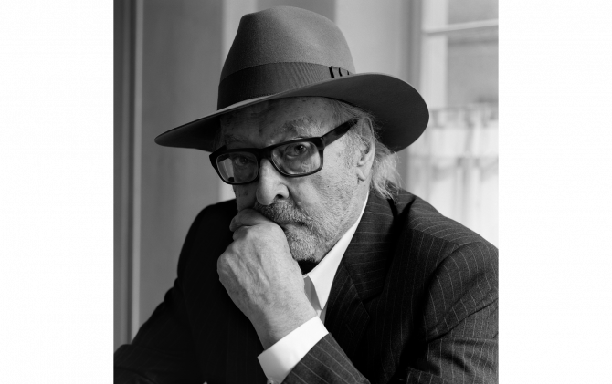 PORTRAIT OF AN ARTIST JEAN-LUC GODARD SWITZERLAND, JULY 2020 PHOTOGRAPHY © COURTESY OF HEDI SLIMANE