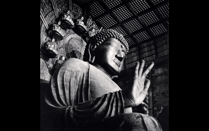 Todaiji Daibutsu, Nara, Honshu, Japan. 2003 All photo © Michael KENNA / RAM