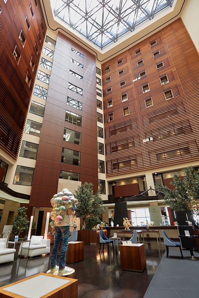 パークホテル東京25階ロビー