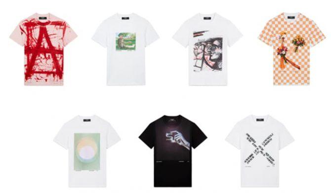 """ステラマッカートニーが世界各国のアーティストとのコラボレーション""""A to Z""""Tシャツを発売"""