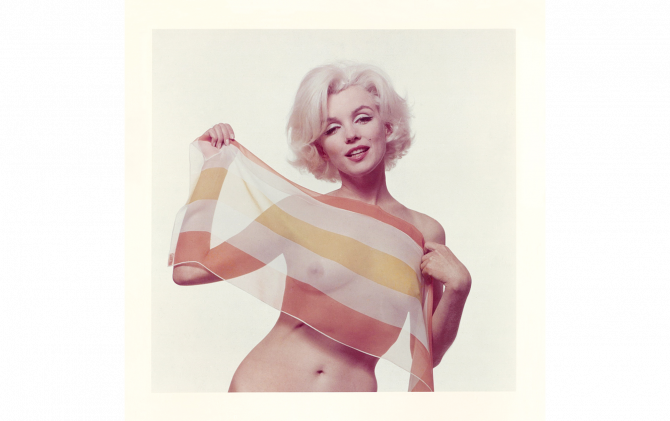 Marilyn Monroe © The Bert Stern Trus