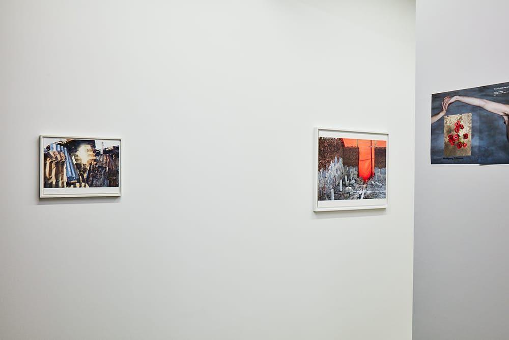 ヴォルフガング・ティルマンスの個展「How does it feel?」展示の様子