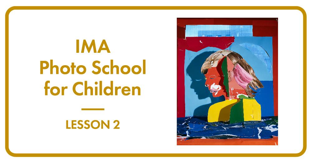 子どものための写真学校 Lesson 2「作ったらカメラでパシャ!」   子どものための写真学校 Lesson 2
