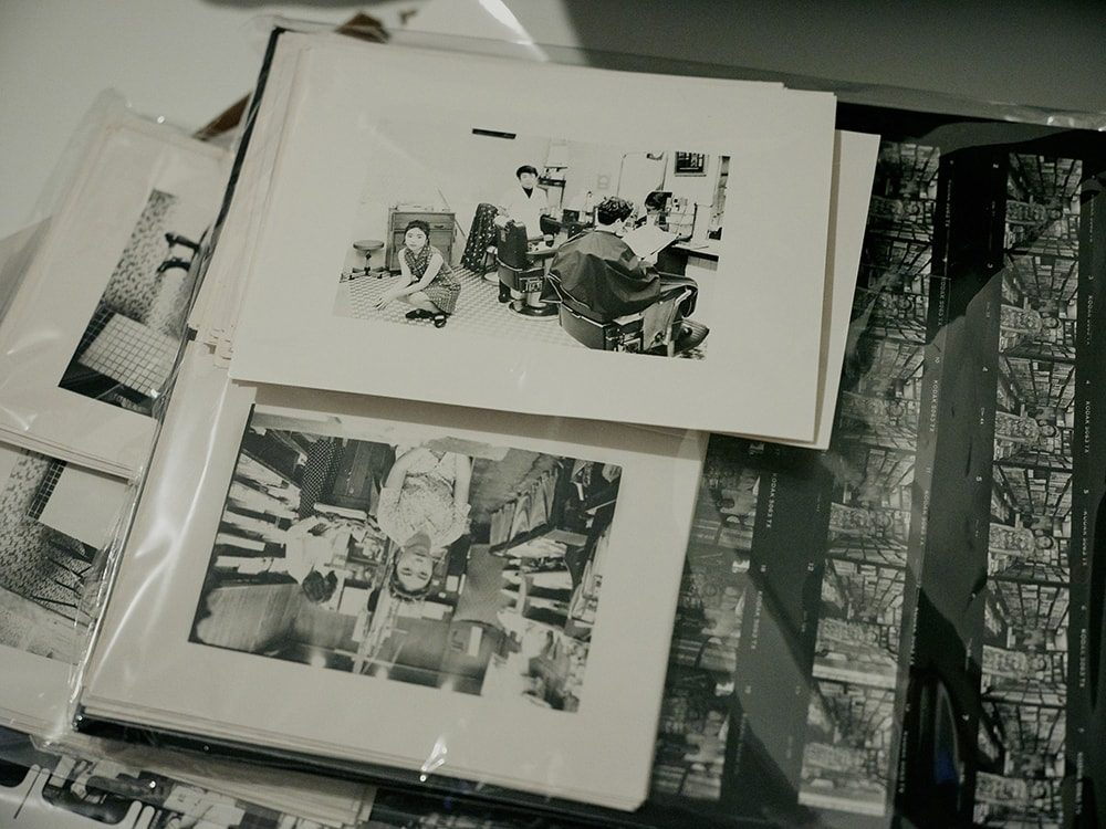 学生時代に撮影したスナップ写真の数々。