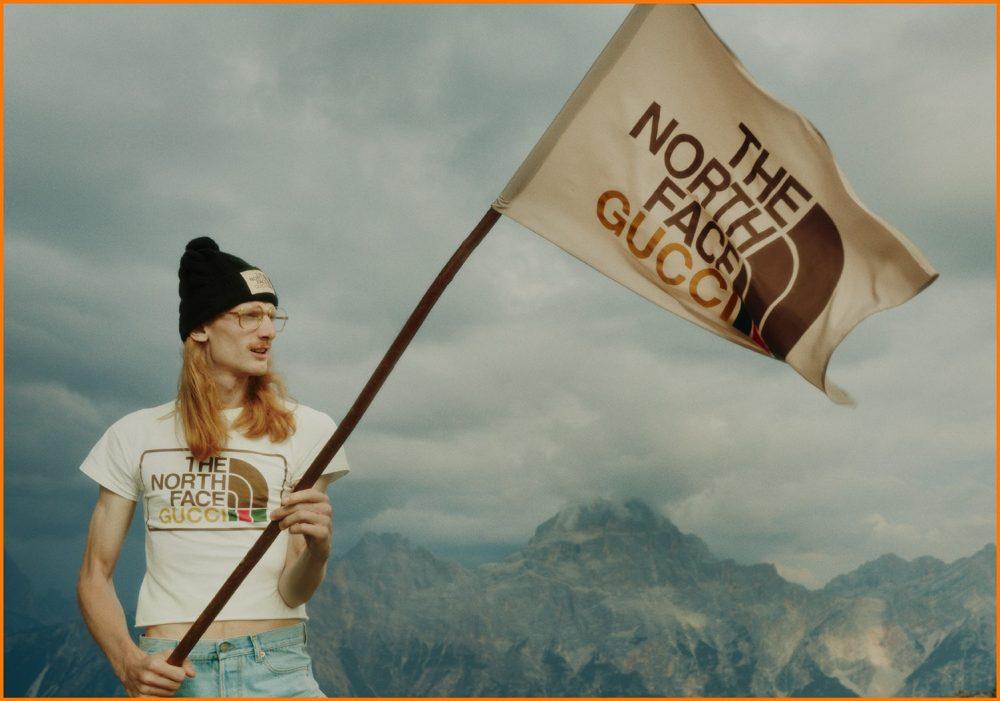 グッチとザ・ノース・フェイスのコラボ発売!ダニエル・シェアがアルプスの大自然で撮影