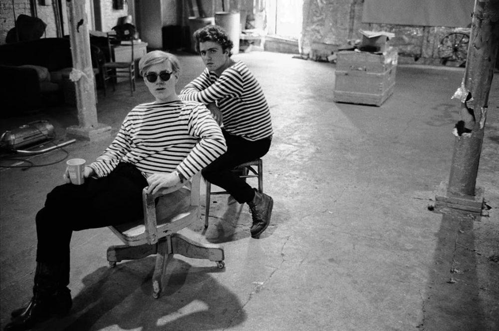 Andy Warhol and Gerard Malanga, The Factory, New York, New York, 1965-1967