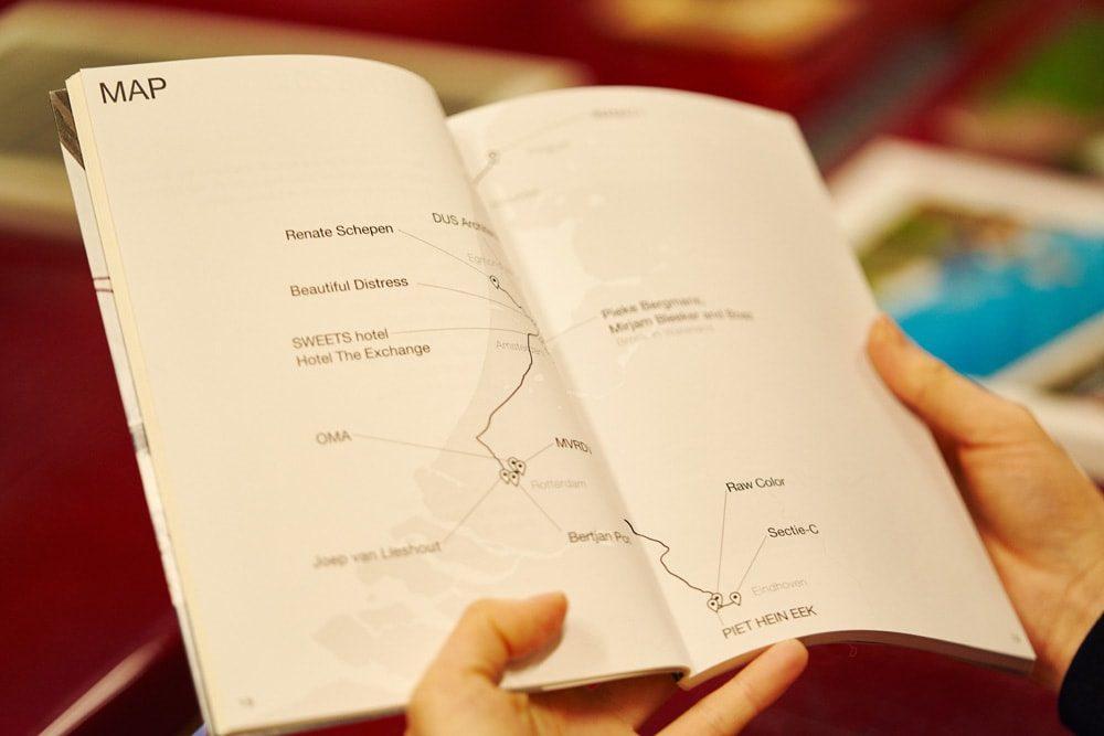 8日間にわたりオランダ各地をめぐったツアーの集大成ともいえる冊子「Still in LLOVE」。