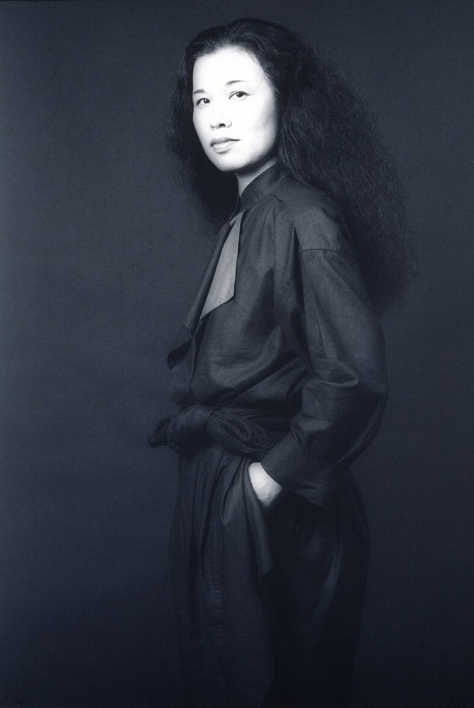 石岡瑛子 1983年 Photo by Robert Mapplethorpe © Robert Mapplethorpe Foundation. Used by permission.