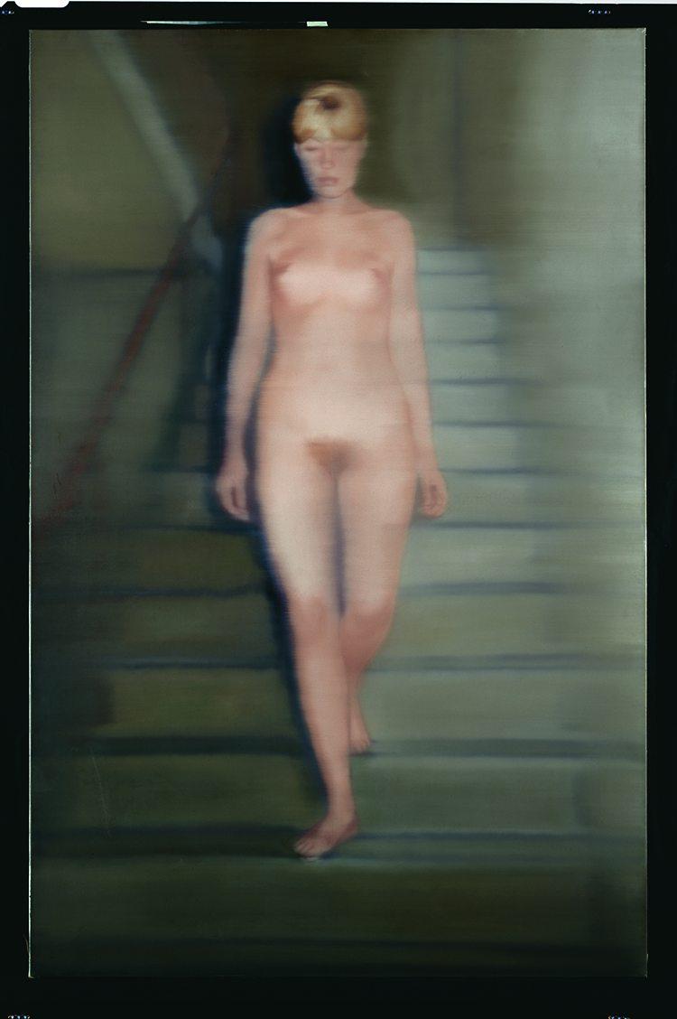 Ema (Nude on a Staircase) , 1966  200 cm x 130 cm  Oil on canvas © Gerhard Richter 2021 (0125).