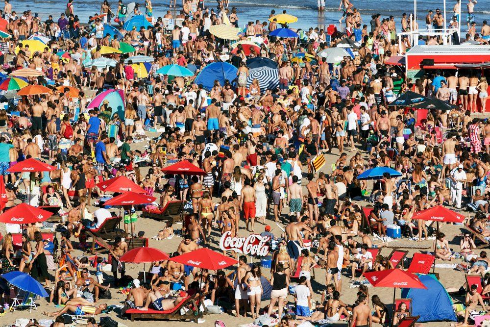 Grandé Beach, Mar Del Plata, Argentina, 2014