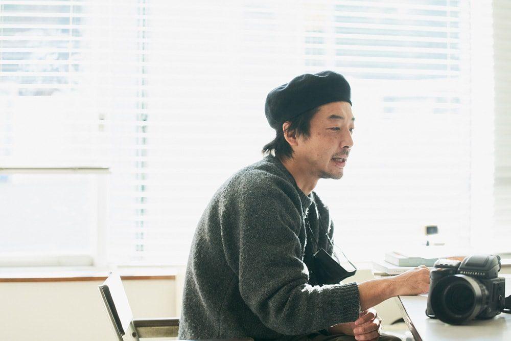 """水谷太郎""""愛機は時代と共に変わるのがファッション写真だと思います"""""""