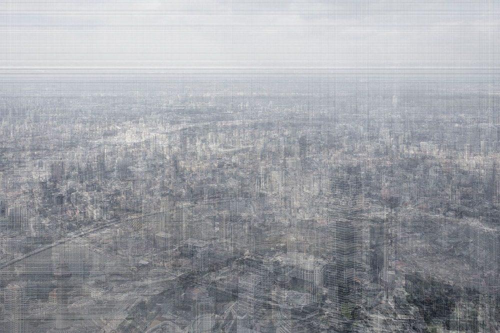 Shanghai Center, Inkjet Print, 2000mm x 3000mm, 2019