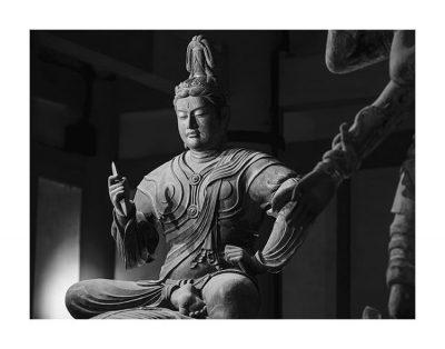 帝釈天半跏像 東寺 © Yoshihiro Tatsuki