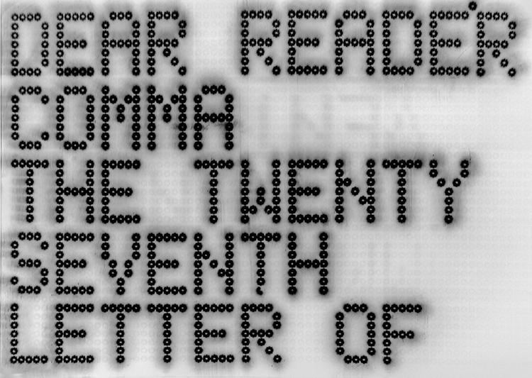 Electric Comma One, 2013 © The Artist, courtesy Sadie Coles HQ, London