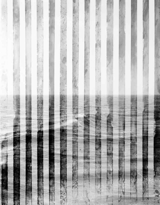 "Arthur Ou, ""Test Screen (Lines 2),"" 2010, courtesy of Brennan & Griffin, New York"