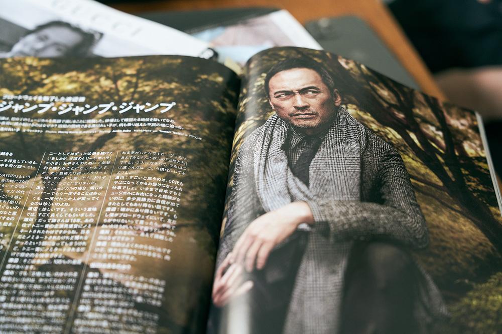 『GQ JAPAN』毎年恒例のその年活躍した男性を表彰するMEN OF THE YEARシリーズ。