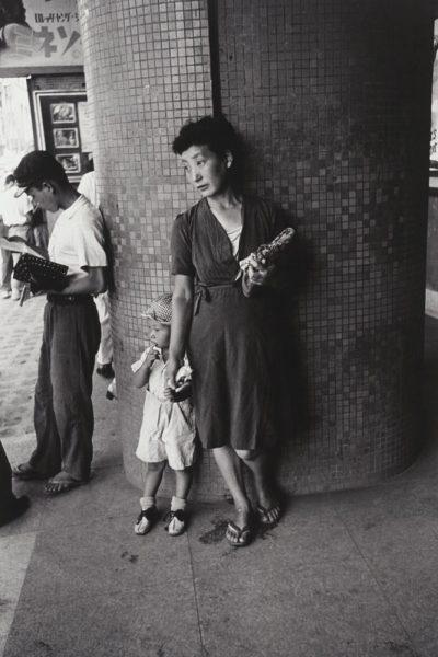 木村伊兵衛「母と子」1948年