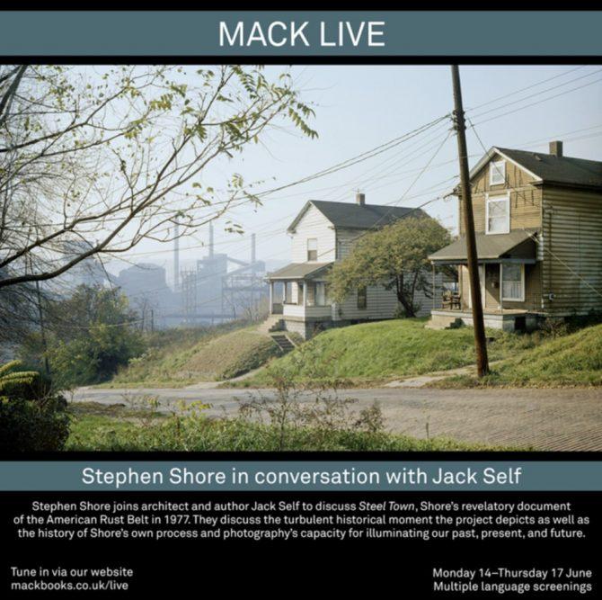 スティーブン・ショア新刊『STEEL TOWN』刊行記念オンライン対談