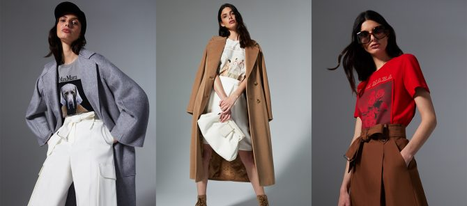 マックスマーラからアートT登場!コートを着た犬やバレエダンサーフォトはいかが