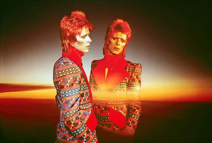 """David Bowie, Dawn of Hope, 1973"" © Sukita"