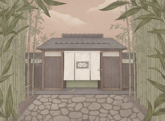 GUCCI IN KYOTO EXHIBITION