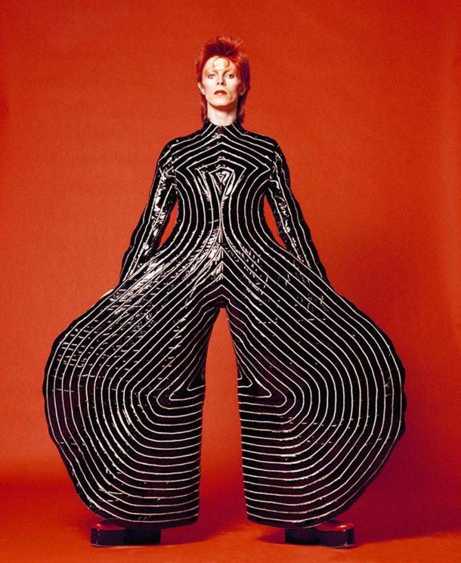 """David Bowie, Watch That Man III, 1973"" © Sukita、無断転載禁止"