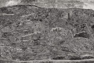 Diorama Map Johannesburg Courtesy of Michael Hoppen Gallery