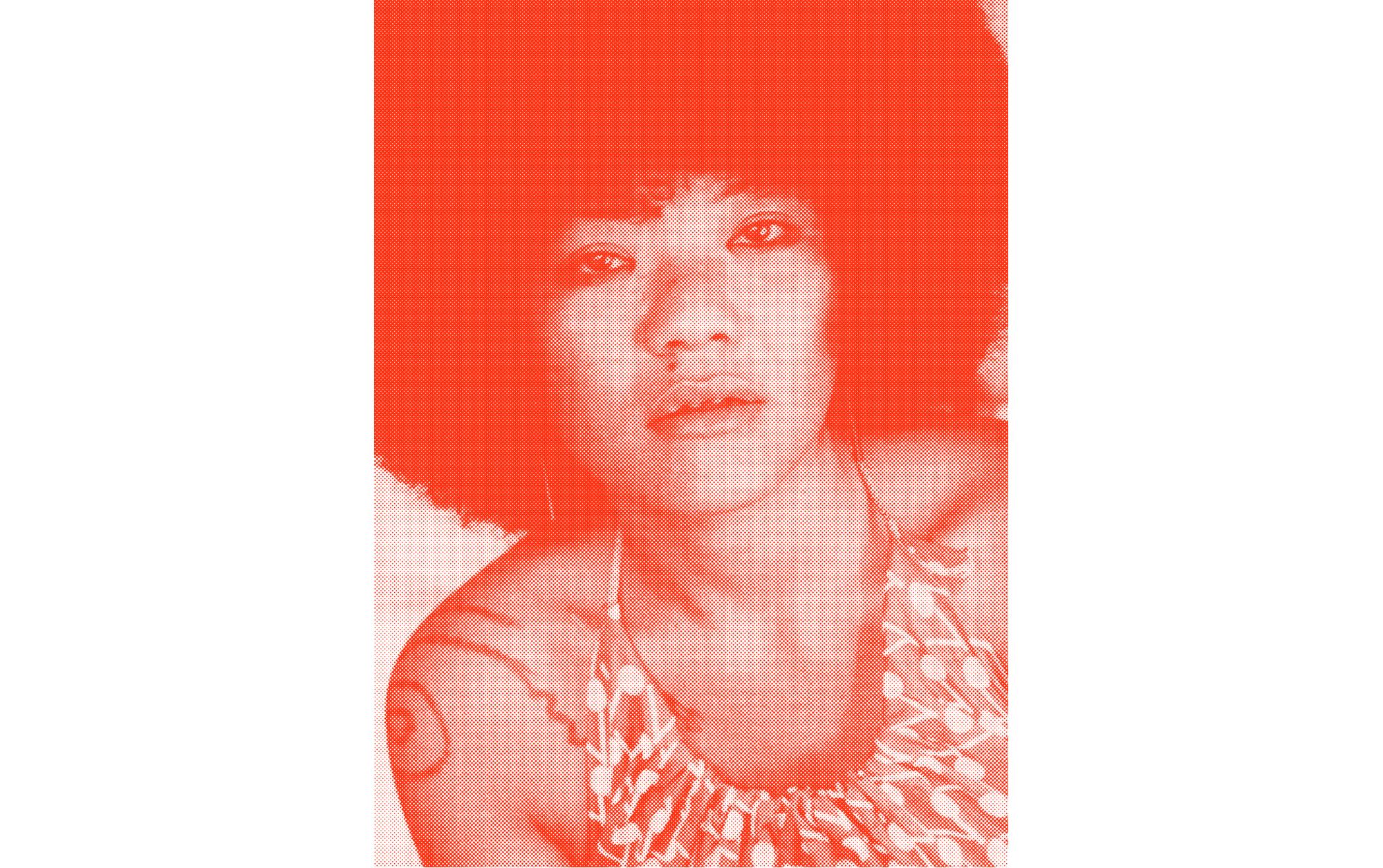 赤花 アカバナー、沖縄の女